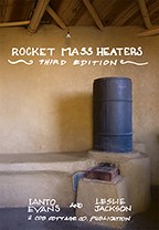 Get this excellent DIY manual and build your own Rocket Mass Heater! Available at www.rocketstoves.com