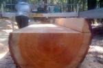Milling on-site lumber
